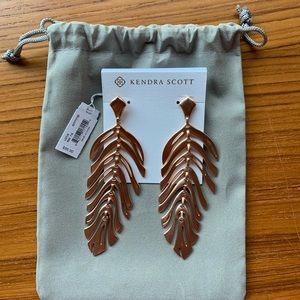 Kendra Scott Jewelry - Kendra Scott Lotus Earrings Rose Gold